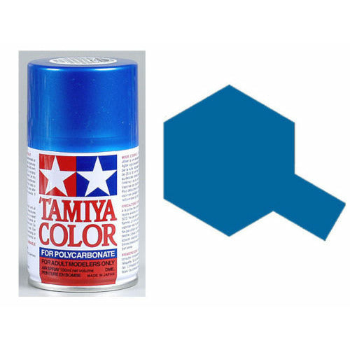Tamiya Polycarbonate 86016 PS-16 Metallic Blue Spray Paint Aerosol 100ml
