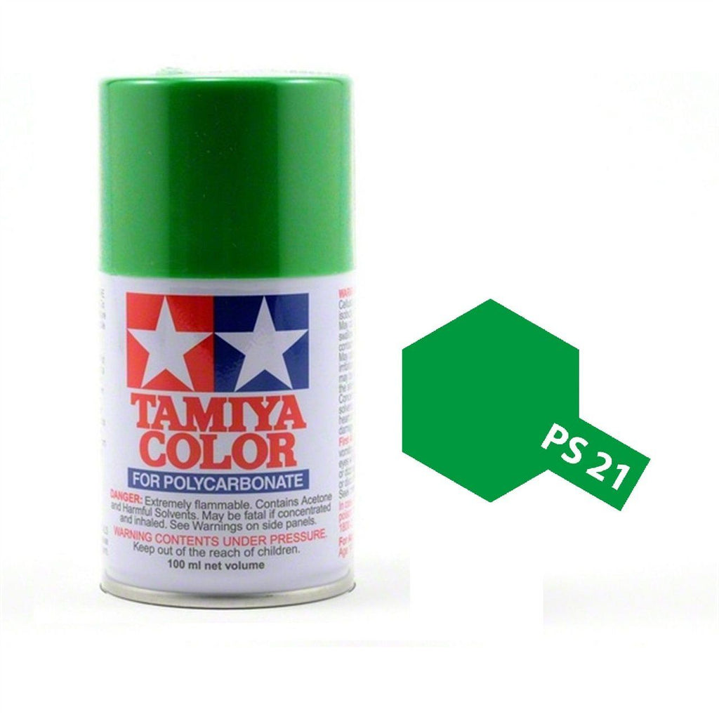 Tamiya Polycarbonate 86021 PS-21 Park Green Spray Paint Aerosol 100ml