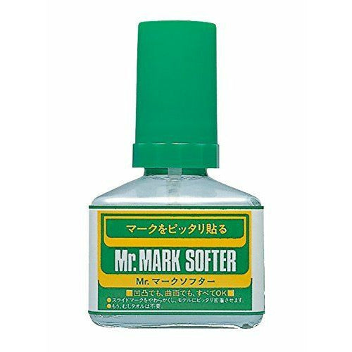 Mr Hobby MS231 Mr. Mark Softer / Softener Decal Solution 40ml Bottle