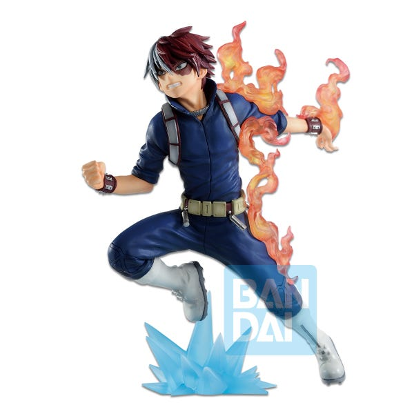 (PRE-ORDER: Expected June 2021) Bandai Spirits Ichiban Go and Go! My Hero Academia Shoto Todoroki Figure Statue