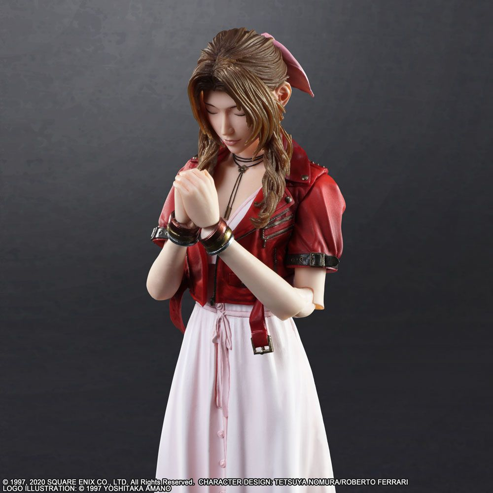 Square Enix Final Fantasy VII 7 Remake Play Arts Kai Aerith Gainsborough Action Figure (December 2020 PRE-ORDER)