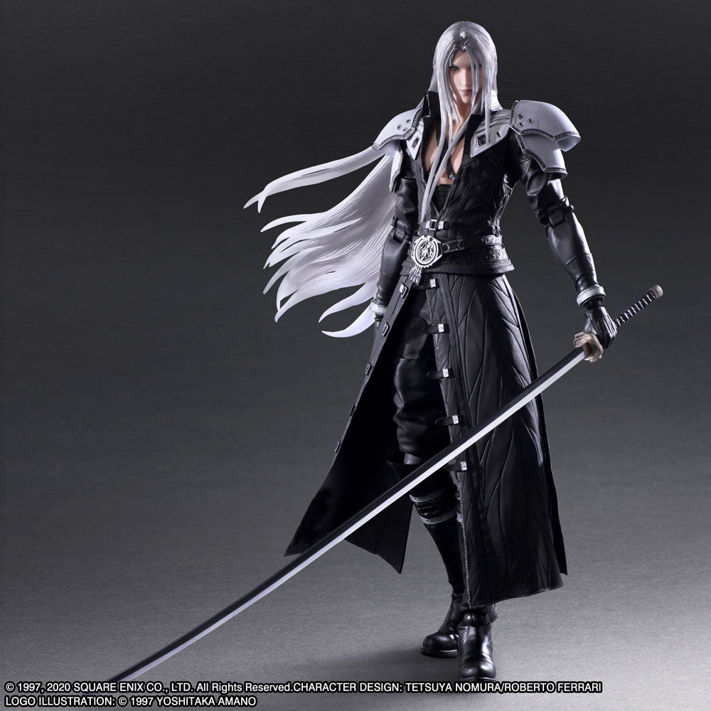 Square Enix Final Fantasy VII 7 Remake Play Arts Kai Sephiroth Action Figure (March 2021 PRE-ORDER)