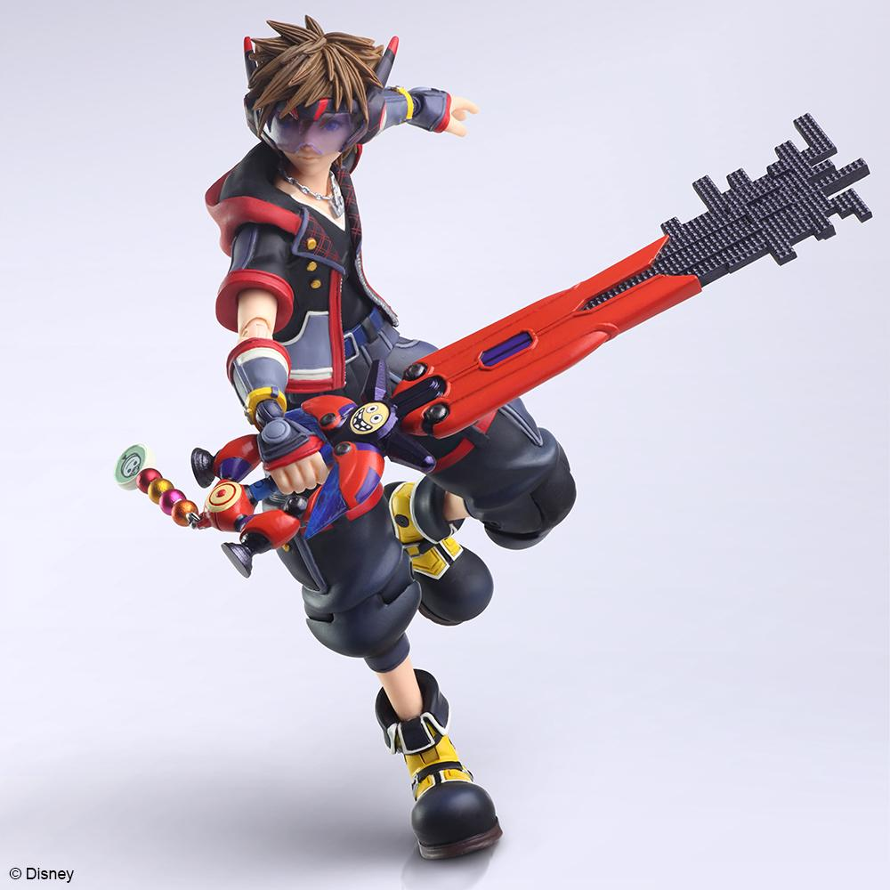 Square Enix Bring Arts Kingdom Hearts III Sora (Ver. 2) Figure Statue (PRE-ORDER: March 2021)