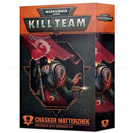 Warhammer Kill Team: Crasker Matterzhek Genestealer Cults Commander Set