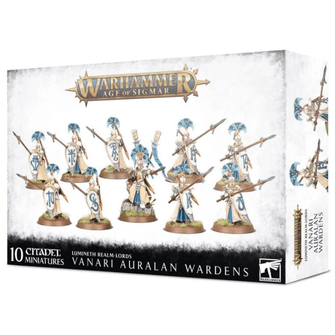 Warhammer Age of Sigmar: Lumineth Realm Lords Vanari Auralan Wardens Plastic Model Kit (PRE-ORDER: 9/20 Release)