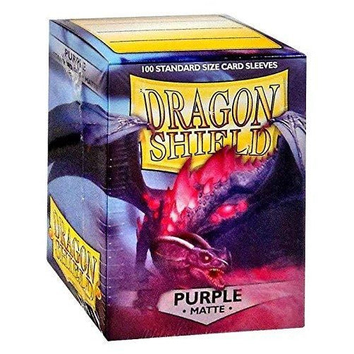 Dragon Shield Matte Purple 100 Protective Sleeves