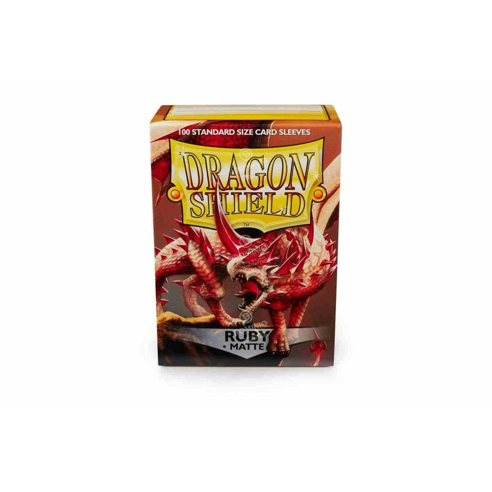 Dragon Shield Matte Ruby - 100 Deck Sleeves