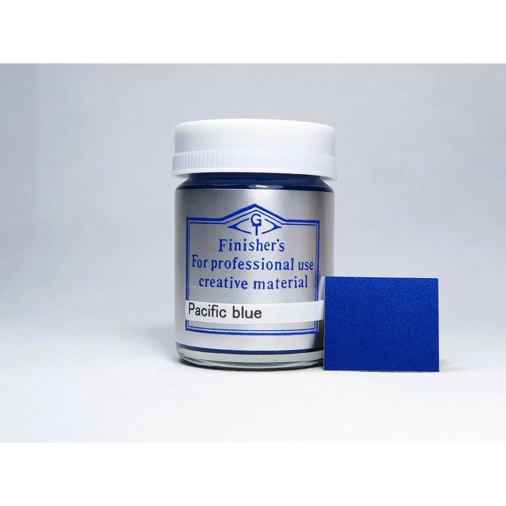 Finisher's Pacific Blue 20ml Lacquer Paint Bottle FNSCC-053
