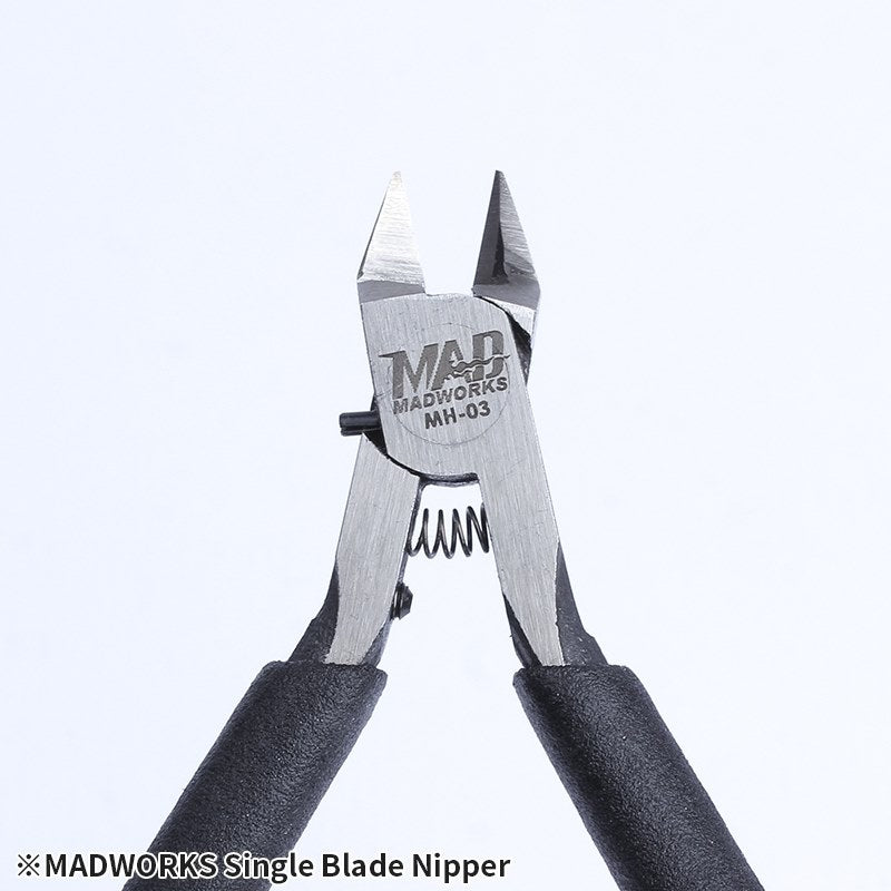 Madworks MH-03 Single-Blade Plastic Hobby Nipper Side Cutter