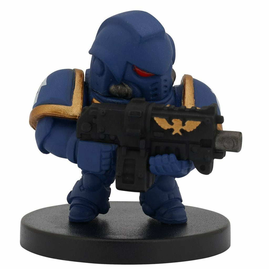 Bandai Warhammer 40,000 40k Chibi Series 1 Ultramarines Primaris Intercessor Figure