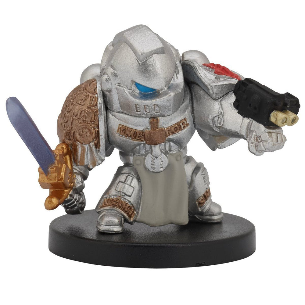 Bandai Warhammer 40,000 40k Chibi Series 1 Grey Knight Space Marine Figure