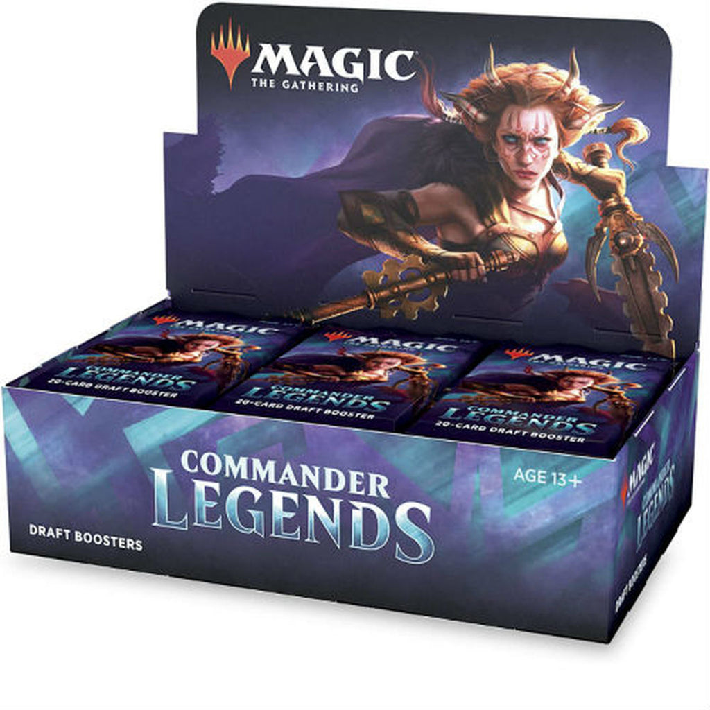MTG Commander Legends Draft Booster Box (24 Packs)