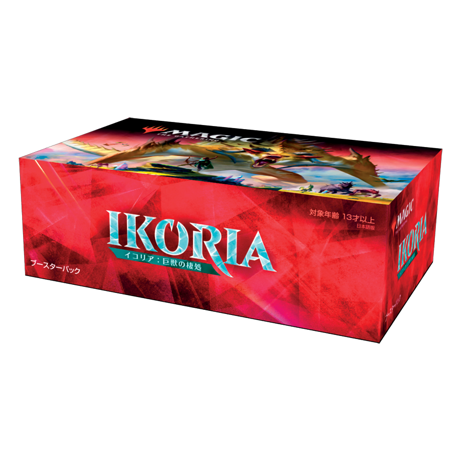 MTG Magic: The Gathering Ikoria: Lair of Behemoths Booster Box JAPANESE | 36 Packs (540 Cards + Box Topper)