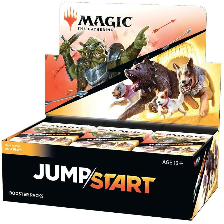 MTG Magic: The Gathering Jumpstart Booster Box | 24 Booster Packs | 20 Cards Per Pack