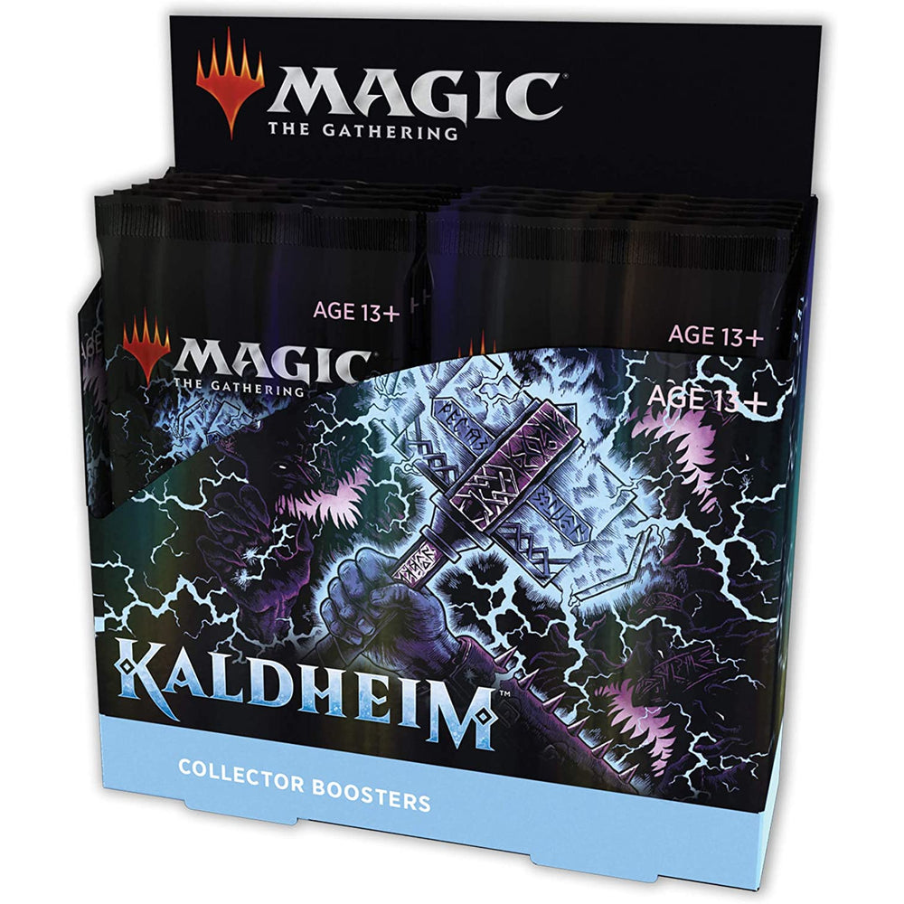 Magic The Gathering Kaldheim Collector Booster Box | 12 Packs (180 Magic Cards)