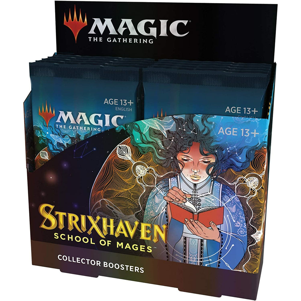 (PRE-ORDER: Apr 23) Magic The Gathering Strixhaven Collector Booster Box | 12 Packs (180 Magic Cards)