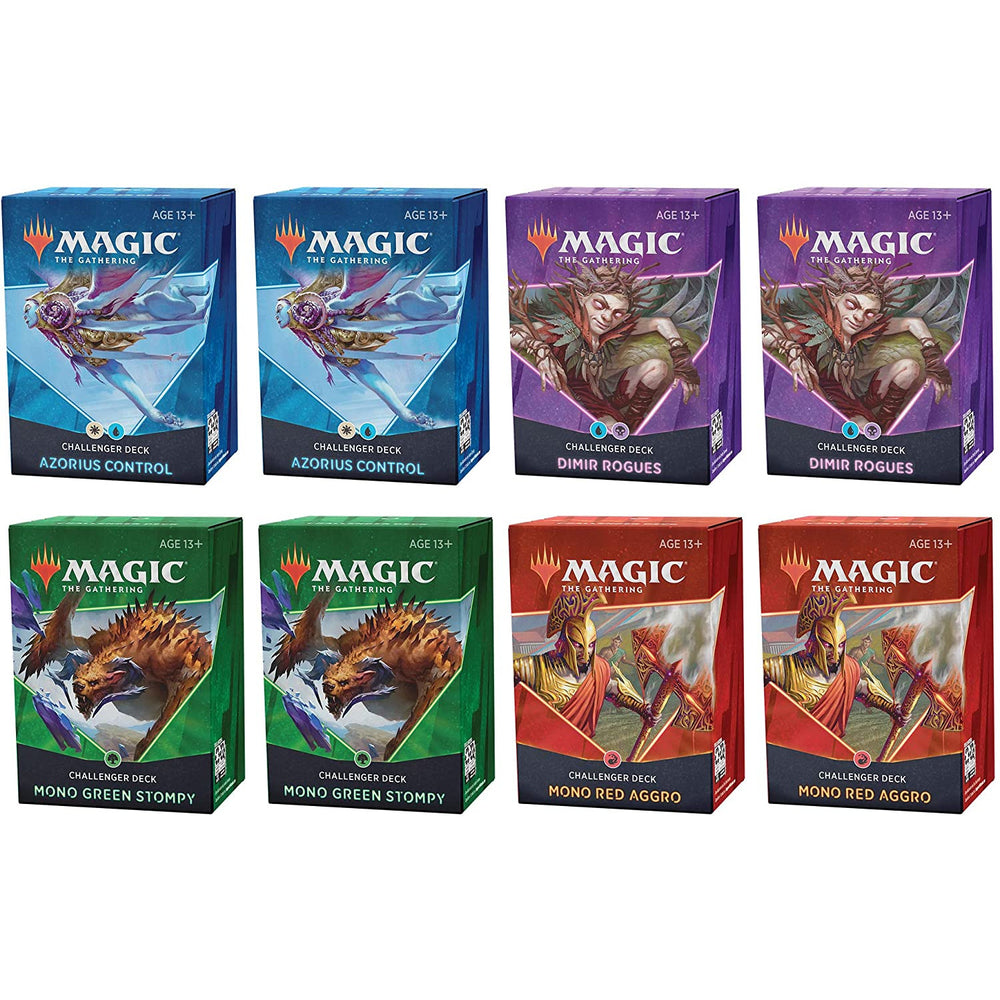 Magic: The Gathering 2021 Challenger Decks Assortment | 8 Decks | 2 of Each