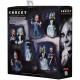 "NECA Ultimate Bride of Chucky Chucky & Tiffany 7"" Scale Action Figure Set"