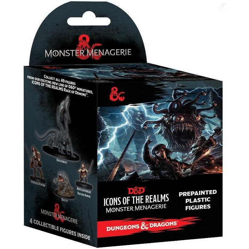 Dungeons & Dragons Icons of the Realms Monster Menagerie Booster Pack 4 Figures