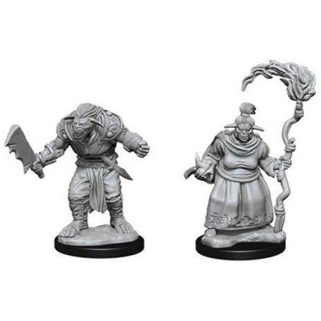 Pathfinder: Deep Cuts Unpainted Miniatures: Bugbears