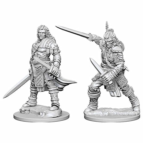 Pathfinder: Deep Cuts Unpainted Miniatures: Human Male Fighter