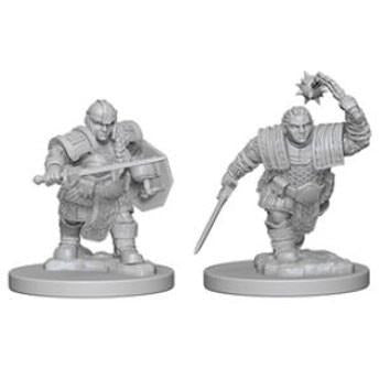Dungeons & Dragons: Nolzur's Marvelous Unpainted Minis: Dwarf Female Fighter