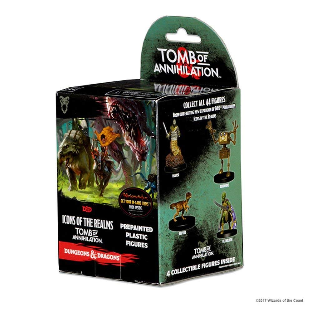 Dungeons & Dragons: Icons of the Realms: Tomb of Annihilation Booster