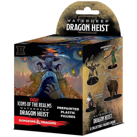 Dungeons & Dragons: Icons of the Realms: Waterdeep Dragon Heist (Standard) D&D, Booster