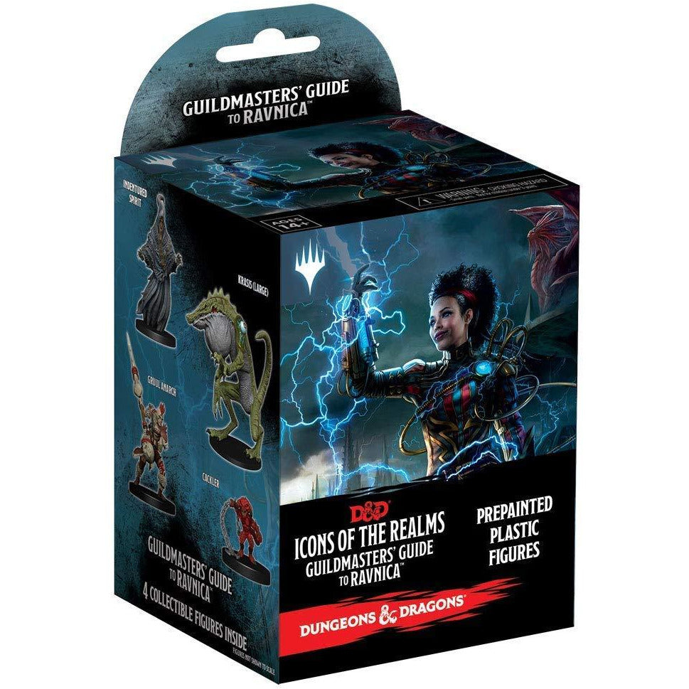Dungeons & Dragons: Icons of the Realms: Set 10 Guildmasters` Guide to Ravnica Booster Pack (1 Box)