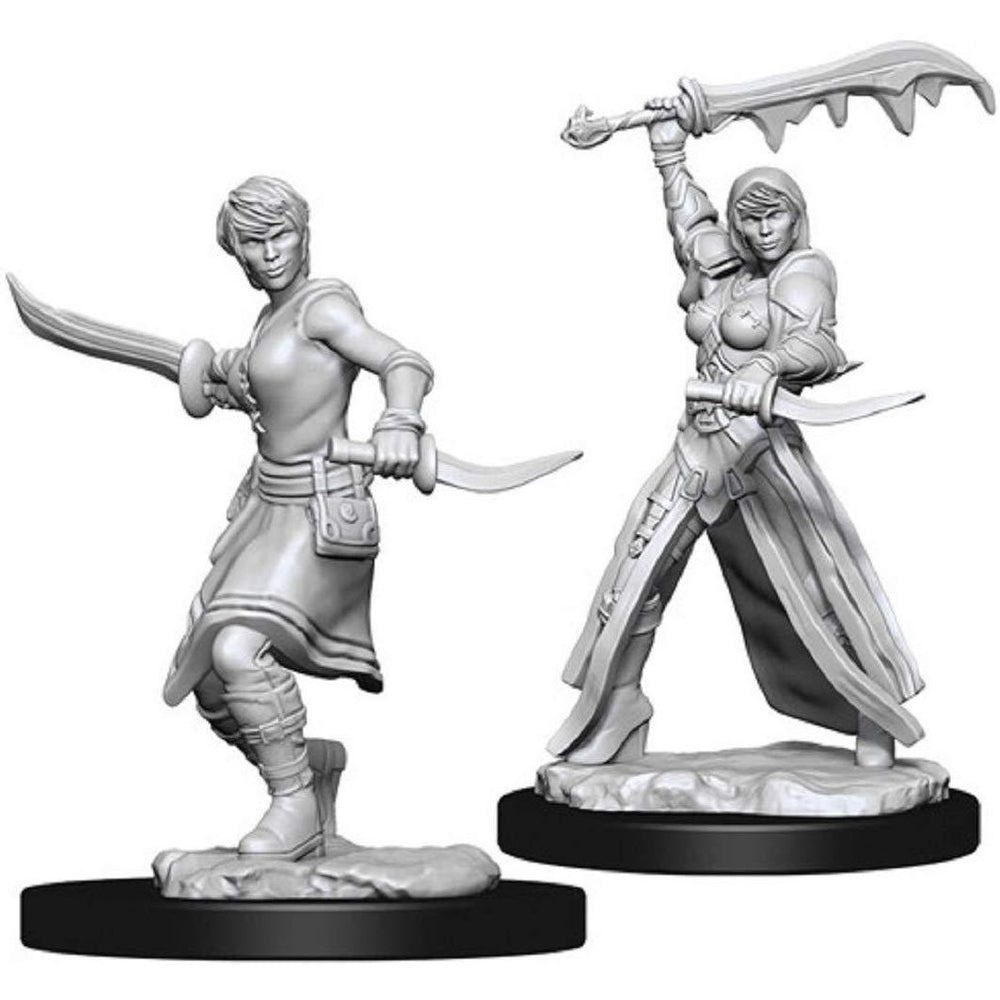 Dungeons & Dragons Nolzur's Unpainted Miniatures: Female Human Rogue
