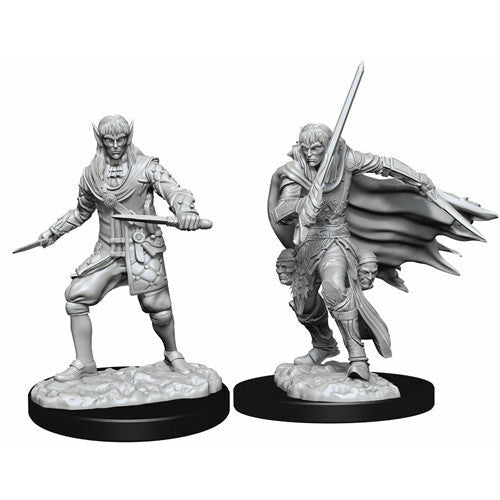 Pathfinder Deep Cuts Unpainted Miniatures: Male Elf Rogue