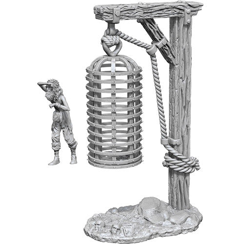Wizkids: Deep Cuts Unpainted Miniatures: Hanging Cage