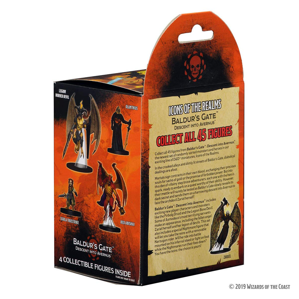 Dungeons & Dragons: Icons of the Realms: Baldur's Gate - Descent into Avernus Booster Pack (1 Box)