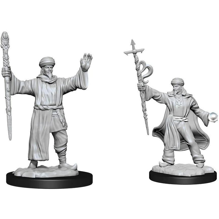 Dungeons & Dragons Nolzur's Marvelous Unpainted Minis: Human Wizard Male