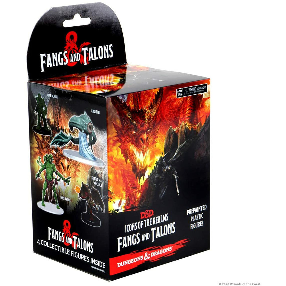 WizKids D&D Icons of The Realms Miniatures: Fangs and Talons Individual Booster