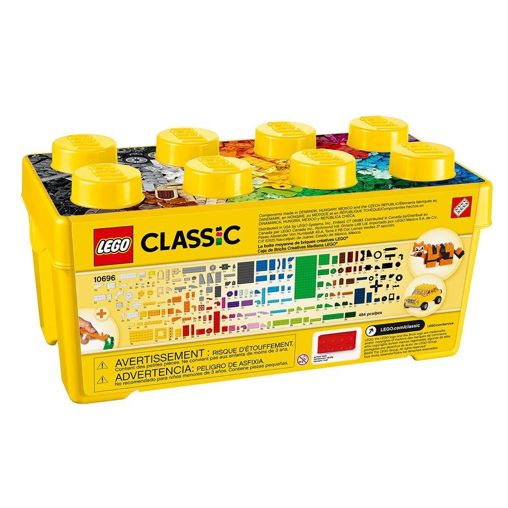 LEGO Classic 10696 Medium Creative Brick Box (484 pcs)