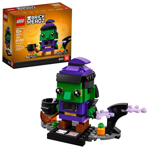 LEGO BrickHeadz 40272 Halloween Witch Building Set (151 pcs)