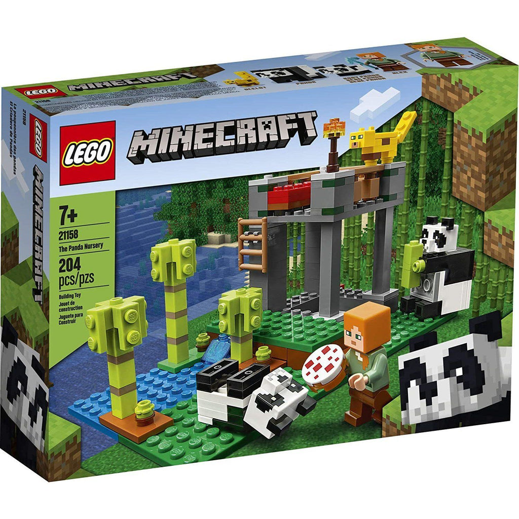 LEGO Minecraft 21158 The Panda Nursery Building Set (204 pcs)