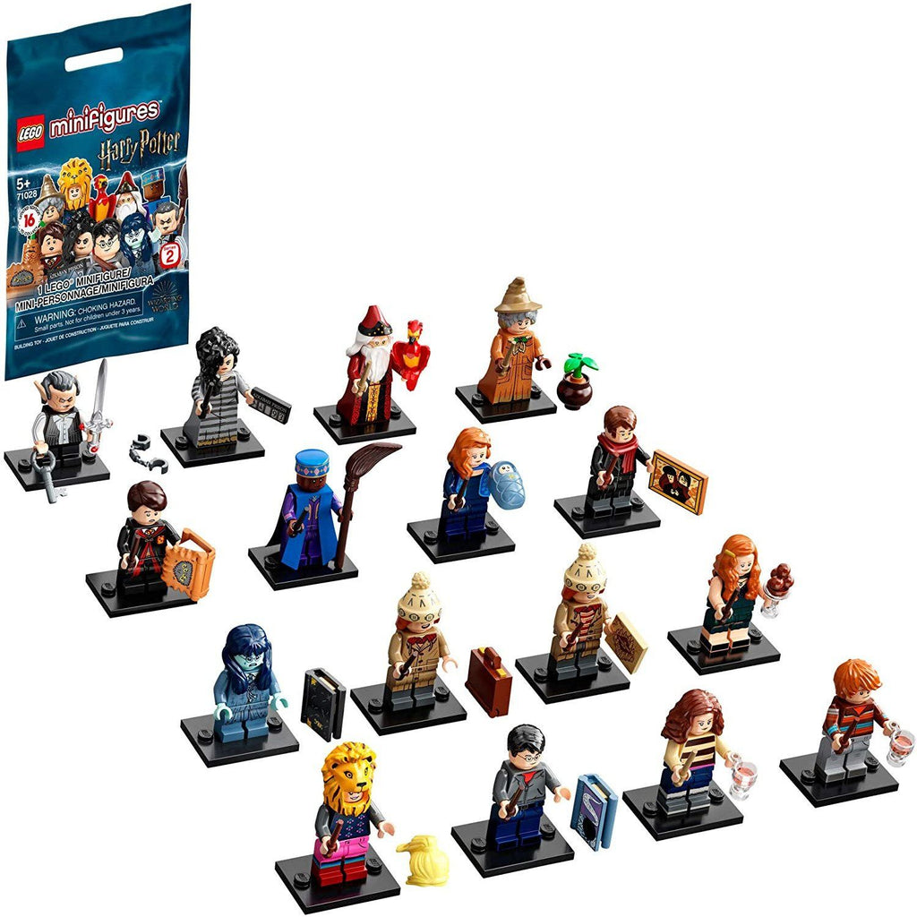 LEGO 71028 Minifigures Harry Potter Series 2 (Single Pack)