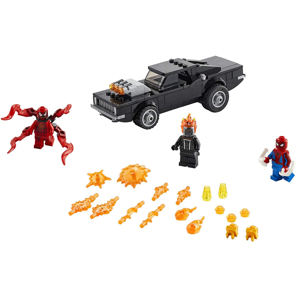 LEGO Marvel Spider-Man 76173 Spider-Man and Ghost Rider Vs. Carnage Building Kit (212 pcs)