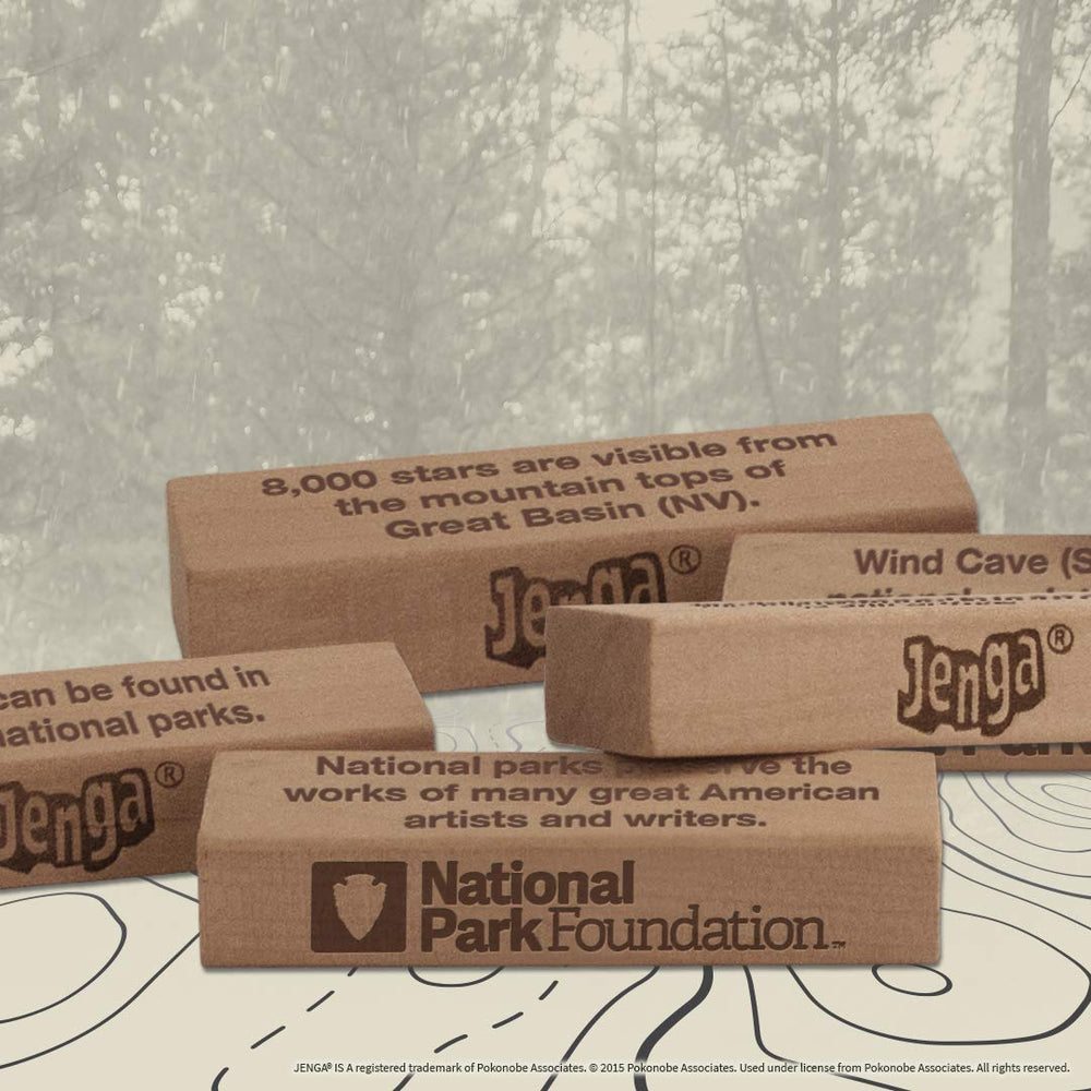 Jenga National Parks Edition Party Game