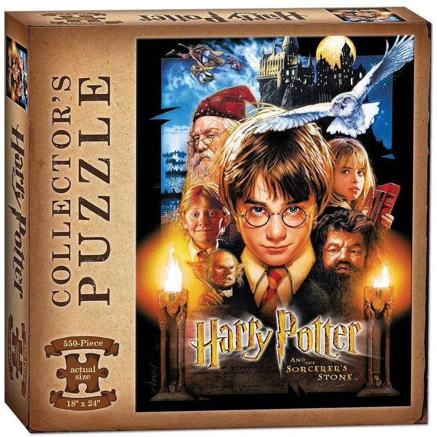 USAopoly Harry Potter and the Sorcerer's Stone Jigsaw Puzzle 550 Piece