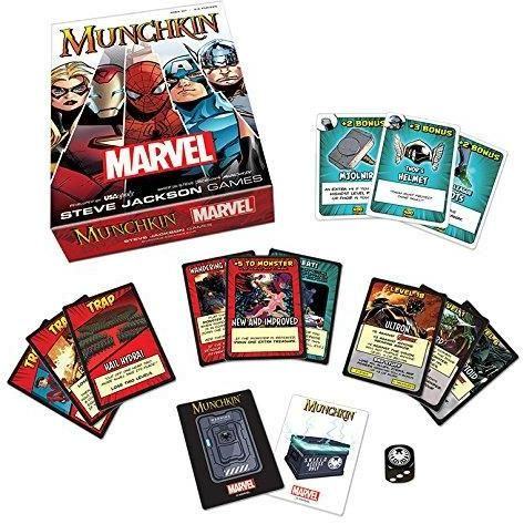 Munchkin Marvel Edition Card Game
