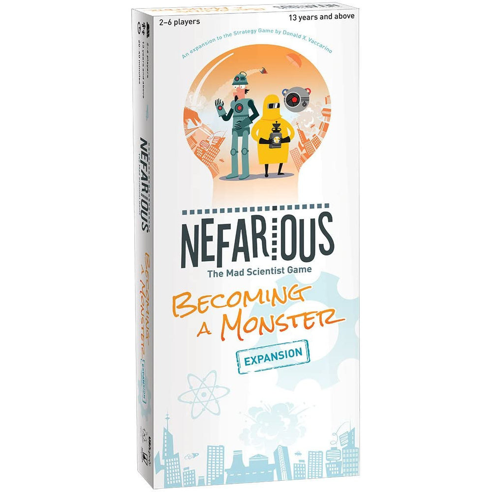 Nefarious The Mad Scientist: Becoming a Monster Expansion