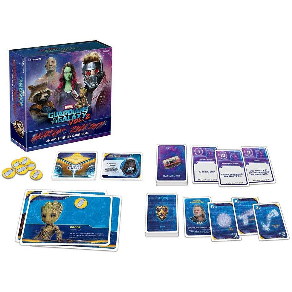 USAopoly Guardians of the Galaxy Volume 2 Playing Card Game