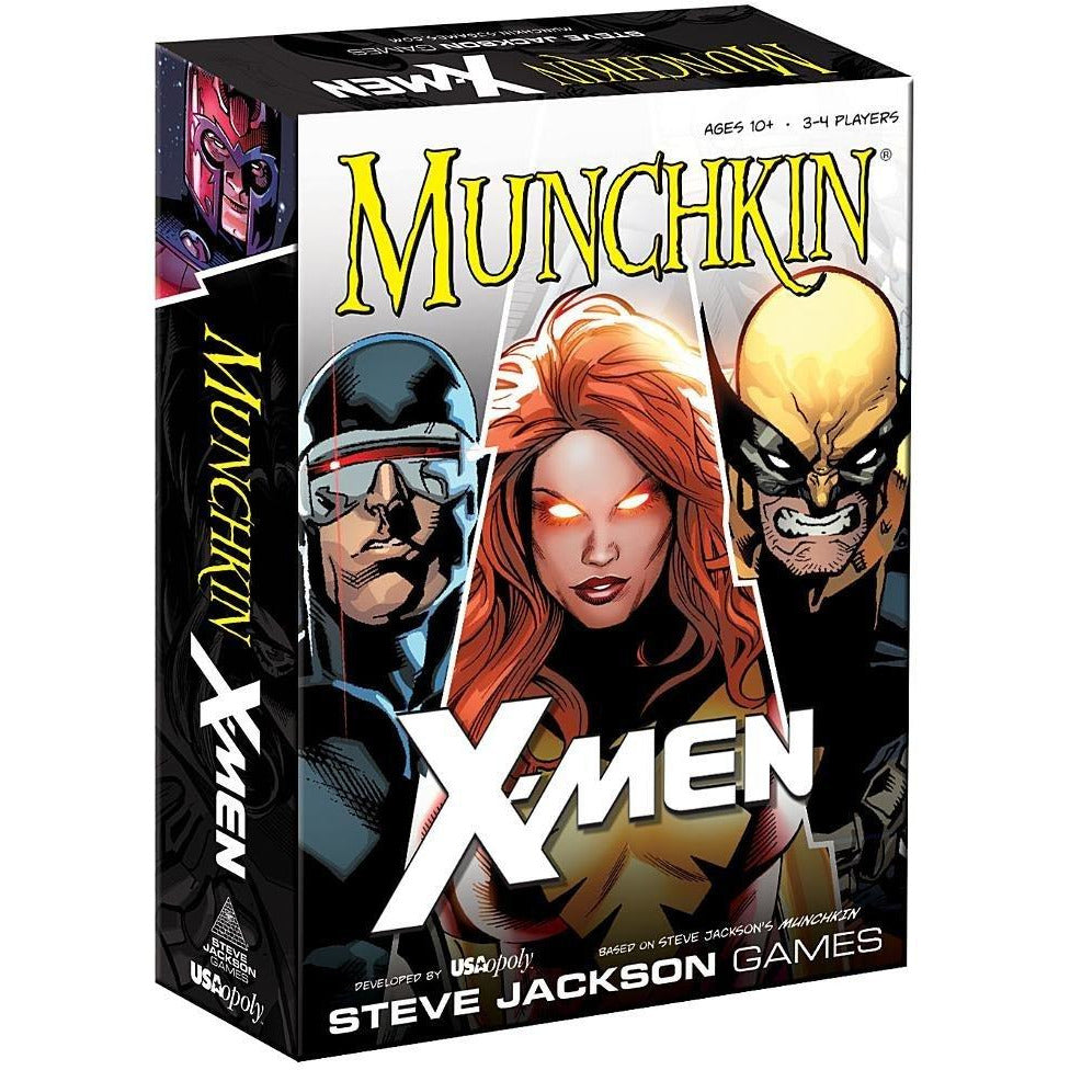 USAopoly Munchkin Marvel X-Men Card Game