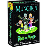USAopoly Munchkin Rick and Morty Card Game