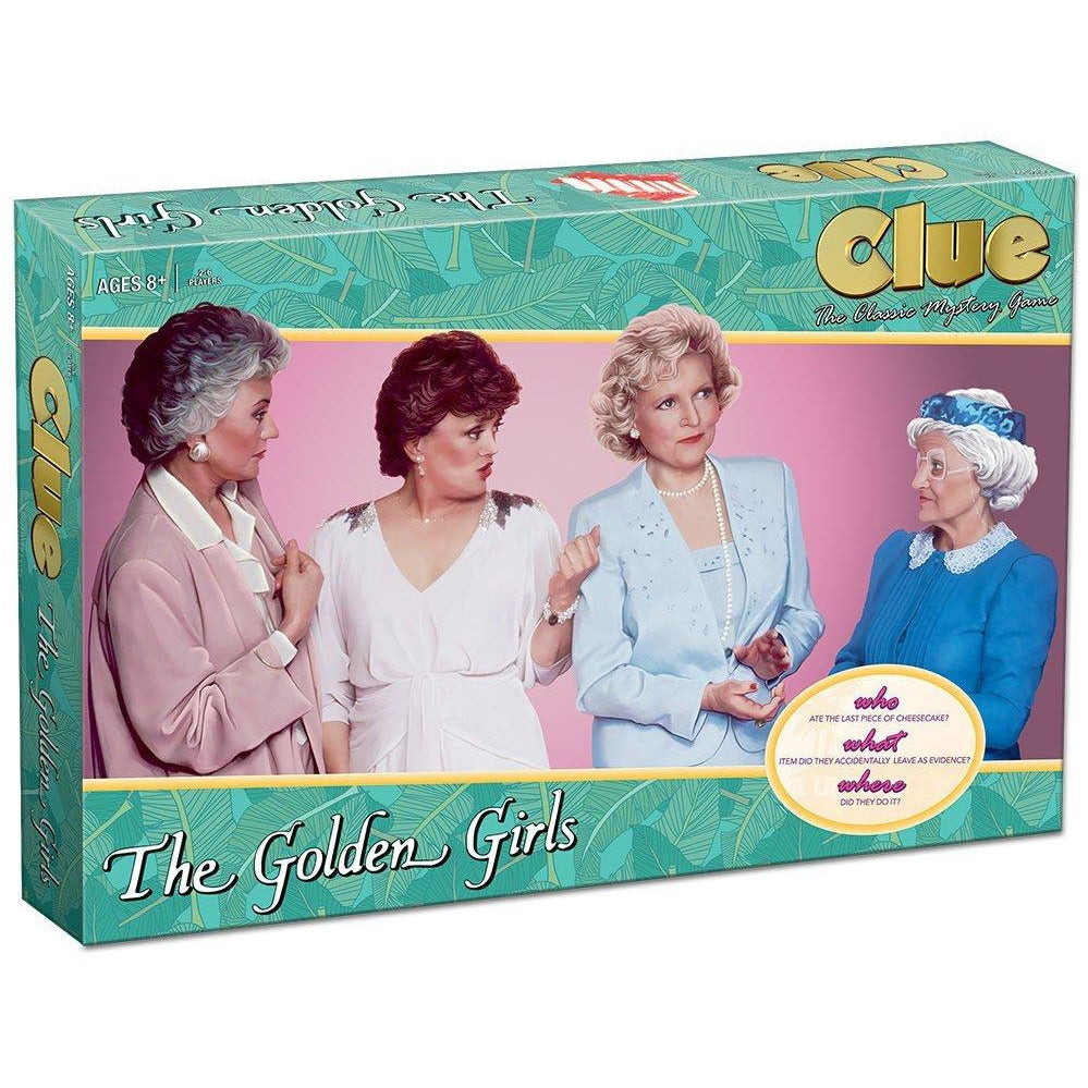 USAopoly The Golden Girls Clue Board Game