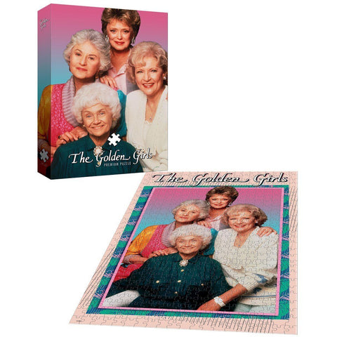 USAopoly The Golden Girls Premium Puzzle (1000 Piece)