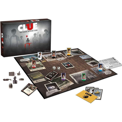 Clue Stephen King's IT Movie Edition Board Game
